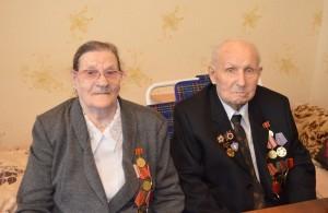 Сергей Петрович Колчанов с супругой Екатериной Степановной