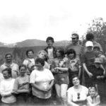 Коллектив редакции газеты «Наше слово» с домочадцами покоряет уральские вершины (снимок конца 90-х годов). Автор этих строк остался за кадром.