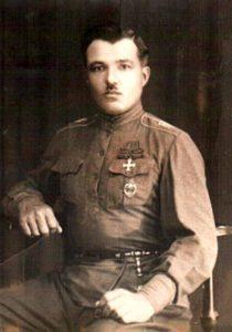 Есаул Забайкальского казачьего войска Михаил Андреевич Казанов.