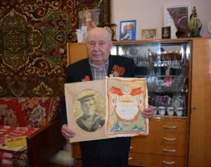 28 февраля Василий Николаевич Кузнецов отметит 90-летний юбилей. Фото: Анна Краснова.