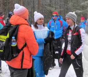 Лыжи – любимое увлечение Светланы Калиной