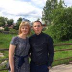 На фото Денис и Екатерина Зяблицки