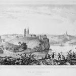 Верхотурье 19 век. В центре снимка - церкви, построенные на средства М.Походяшина