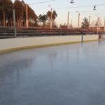 лед на корте