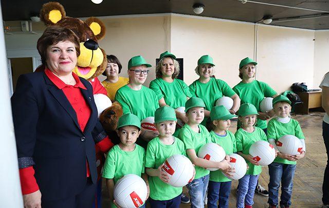 В детских садах будут спортивные клубы