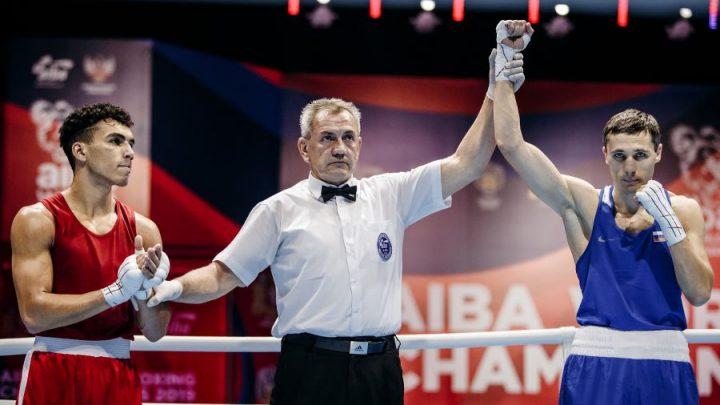 Первый российский нокаут на чемпионате мира по боксу в Екатеринбурге