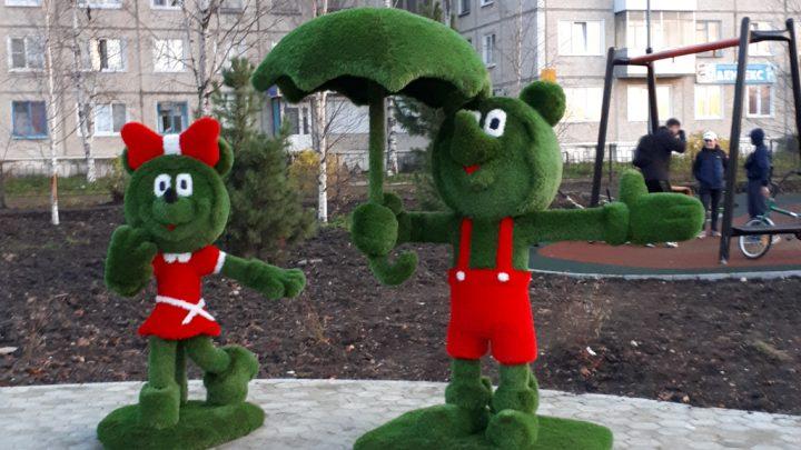 Парк уже собирает посетителей Близятся к завершению работы в Молодежном парке