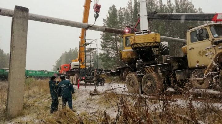 Без газа и тепла –  последствия одного ДТП