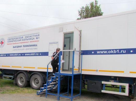 Обследование в «Диамобиле» Более тысячи больных диабетом в Свердловской области прошли обследования в «Диамобиле» в 2019 году