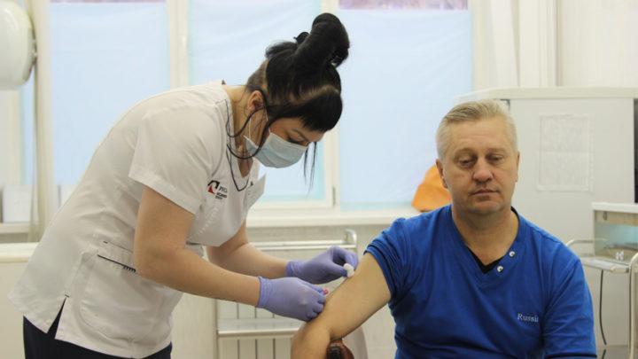 Ставь прививку, не болей!