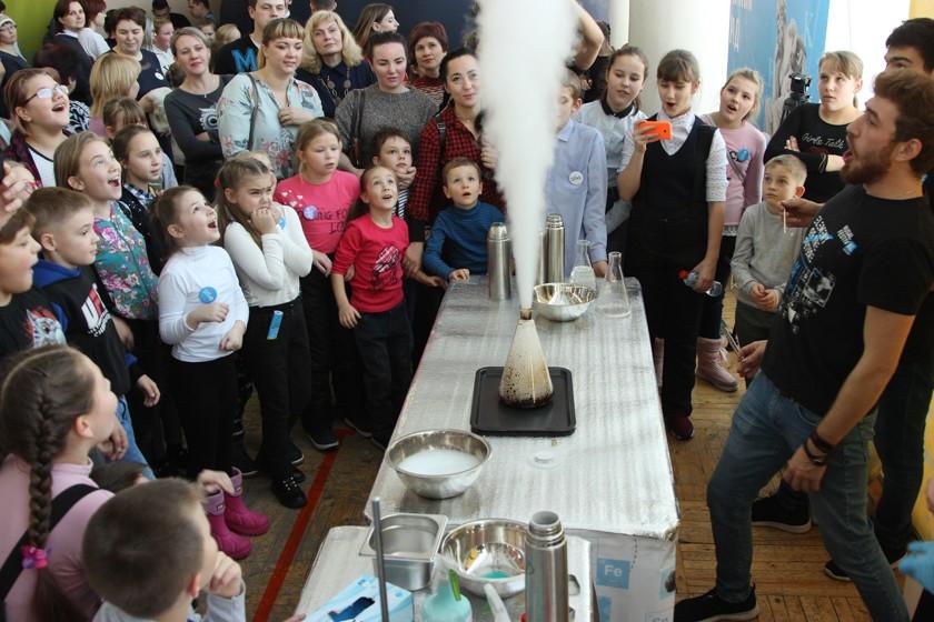 Наука покорила Североуральск В середине ноября «РУСАЛфестивAL #Наука» впервые гостил в Североуральске.