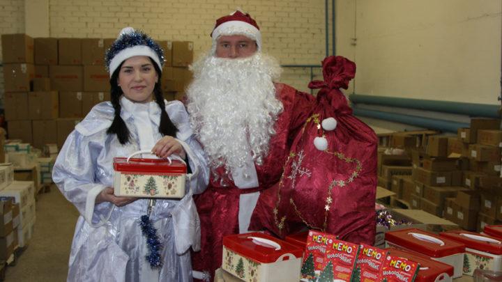 Что в сундучке Деда Мороза?