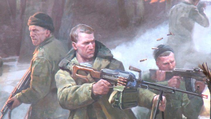 На Среднем Урале почтили память псковского десантника Виктора Романова