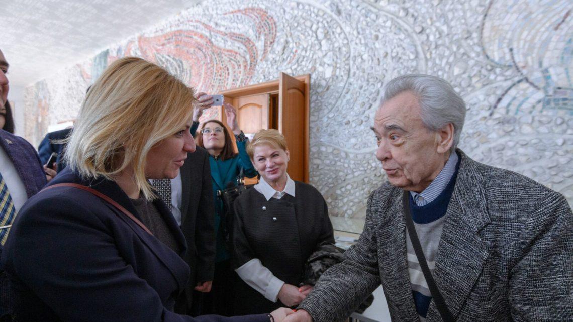 Министр культуры РФ Ольга Любимова высоко оценила реализуемые в Свердловской области культурные проекты
