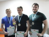 Три серебряных медали