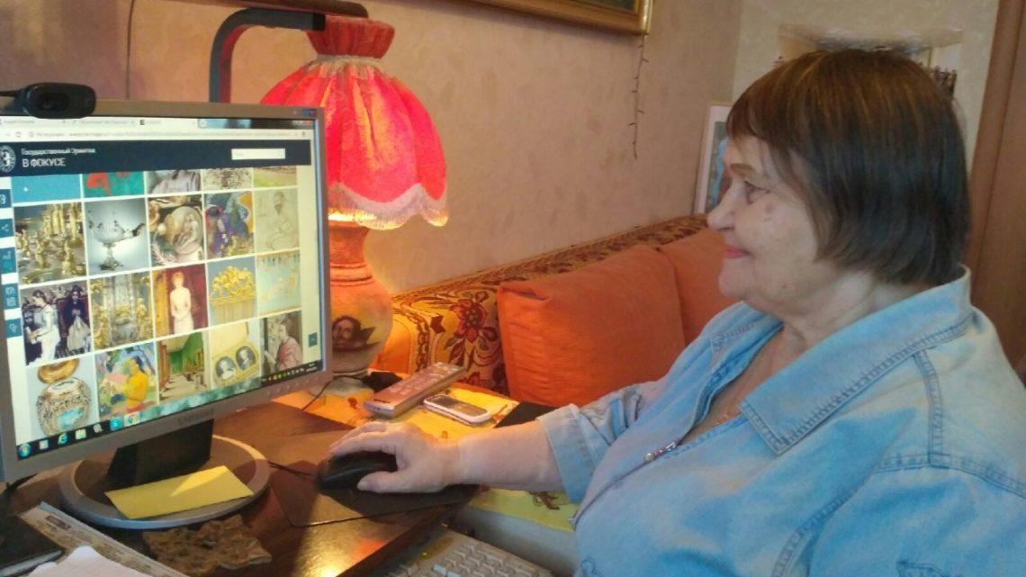 Соцработники создали «Виртуальный зал для досуга и саморазвития» для пенсионеров