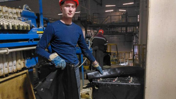 Промышленный отбор На очистных сооружениях  Ново-Шемурского месторождения  СМЦР ведутся промышленные испытания