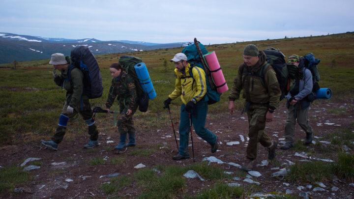 212 км, 12 дней пешком по уральским горам