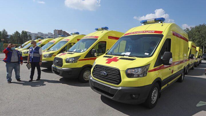 28 автомобилей скорой медицинской помощи, переданные Свердловским больницам, в ближайшие дни выйдут в рейсы