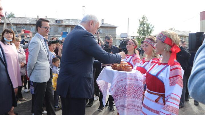 В поселке Чиньяворык Княжпогостского района при поддержке компании РУСАЛ открылся социокультурный центр