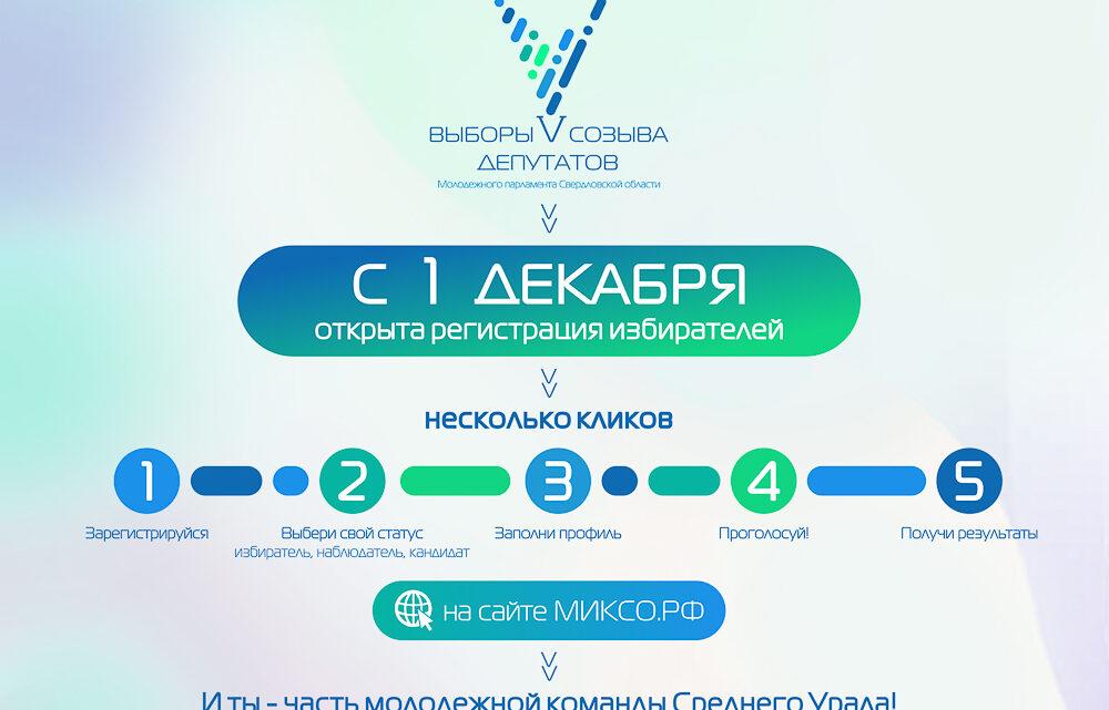 Как молодёжь Среднего Урала будет выбирать своих депутатов