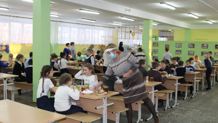 Коронные будни первой школы 3 декабря рабочая группа управления образования посетила школу №1