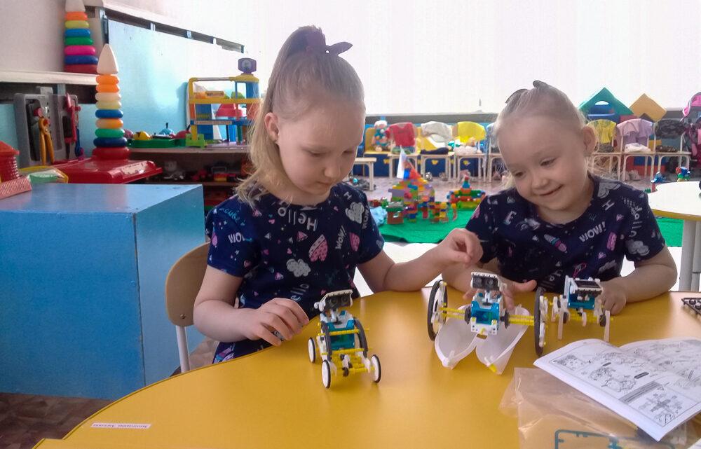 От игры до будущей профессии В середине ноября детскому саду №3 присвоен статус сетевой инновационной площадки