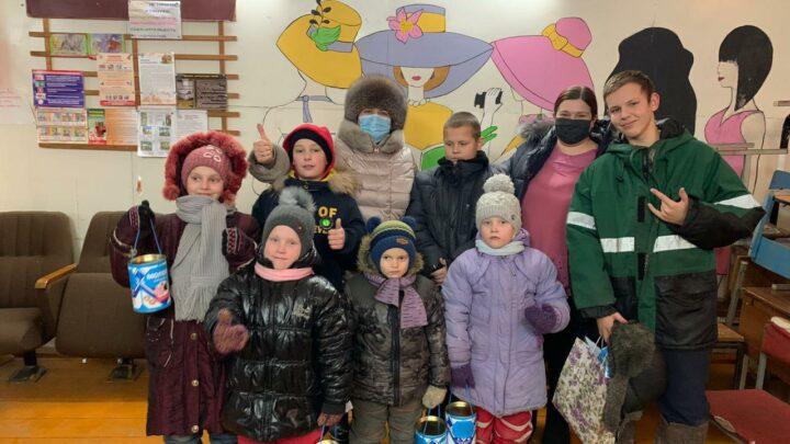Самое дальнее село городского округа – Всеволодо-Благодатское, 5 января встречало гостей.