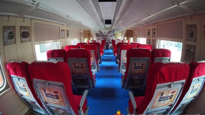 Первый брендированный поезд отправится в путешествие по «Императорскому маршруту» уже в феврале