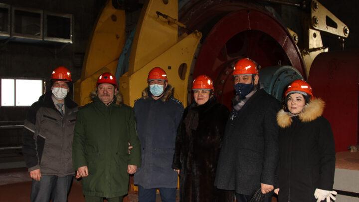 В гости к шахтёрам