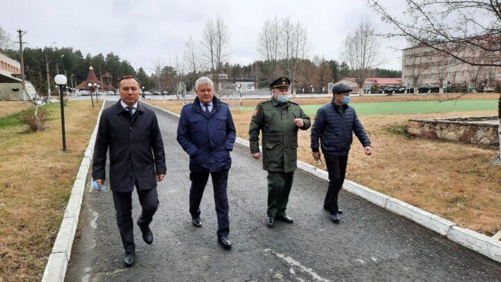 Областной сборный пункт в Егоршино готов принять новобранцев