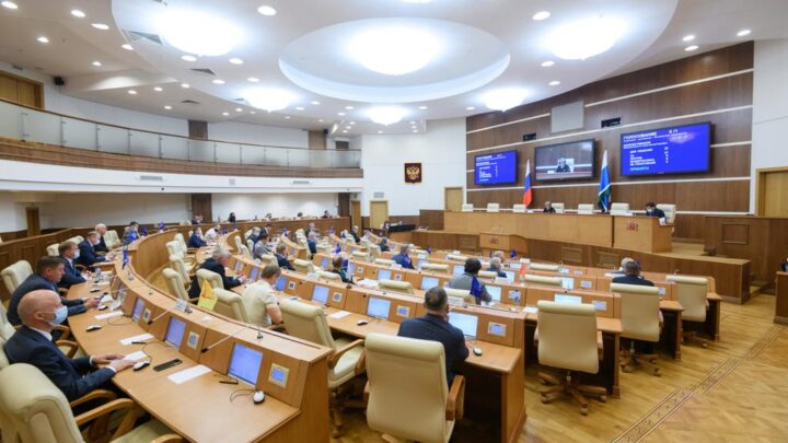 Губернатор Свердловской области Евгений Куйвашевсегодня выступил с ежегодным отчётом перед депутатами Законодательного Собрания региона