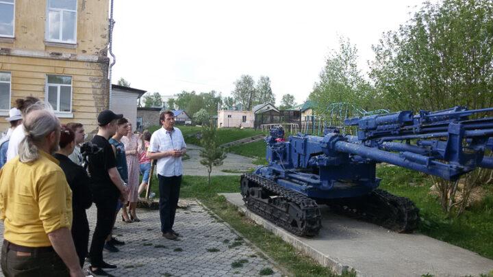 Субровчане провели экскурсию по экспозиции горно-шахтной техники в рамках акции «Ночь музеев»