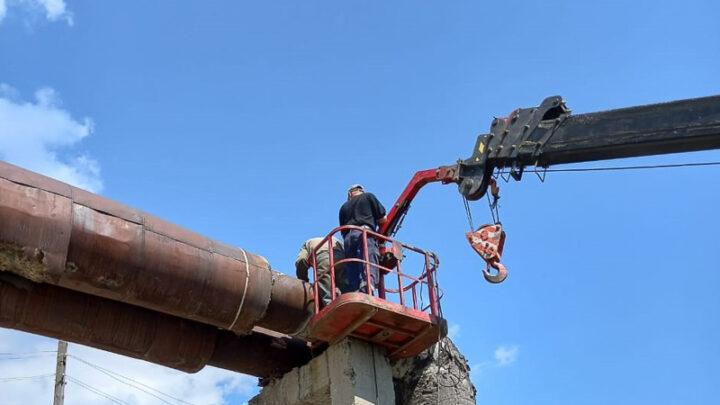 Работники энергоцеха МУП «Комэнергоресурс» готовят теплосети, теплопункты и котельные к новому отопительному сезону