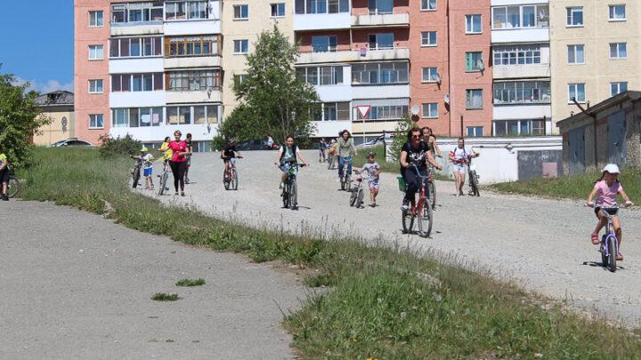 По традиции 12 июня Объединение молодёжно-подростковых клубов города Североуральска организовало велопробег