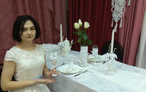 Воспитанница объединения «Макраме» Дарья Булатова стала бронзовым призёром областного конкурса творческих проектов декоративно-прикладного искусства «АртМастер», который провёл региональный Дворец молодёжи.