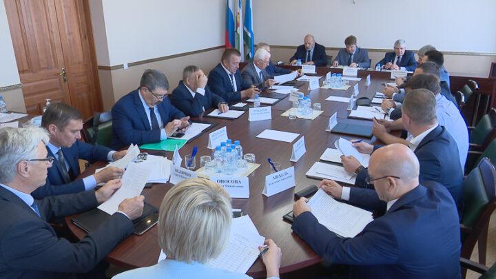 Совещание с главами муниципалитетов Северного управленческого округа Свердловской области