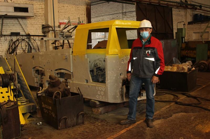 В цеха филиала ИСО с шахты «Черёмуховская» поступил электровоз