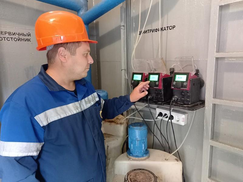 Очистные сооружения хозяйственно-бытовых сточных вод «Капля-15» в вахтовом поселке СМЦР прошли ежегодную промывку и ремонт