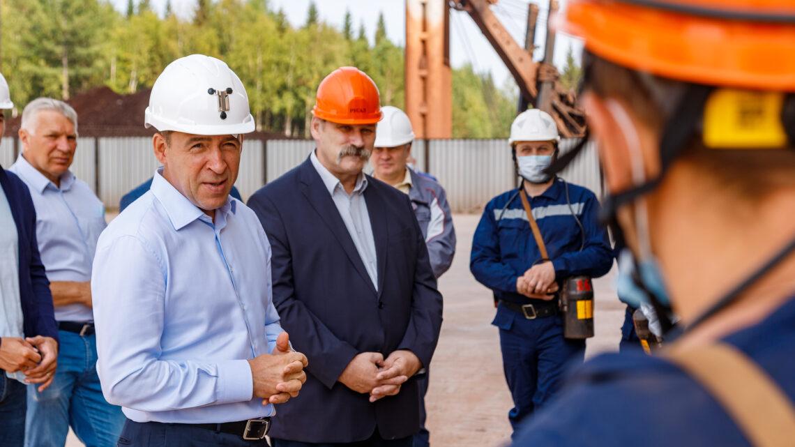 Евгений Куйвашев озвучил планы по модернизации сферы здравоохранения в Североуральском городском округе