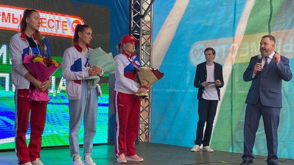 Мероприятие в поддержку российских олимпийских чемпионов «Спасибо олимпийцам!»
