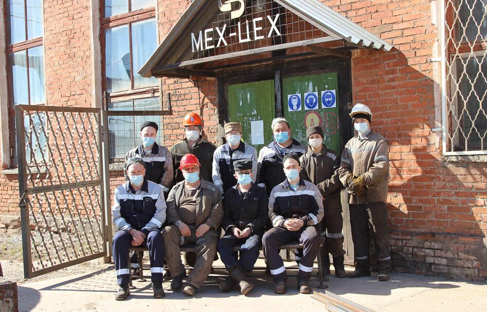 На шахте «Черёмуховская» трудовую вахту несёт механический цех филиала ИСО