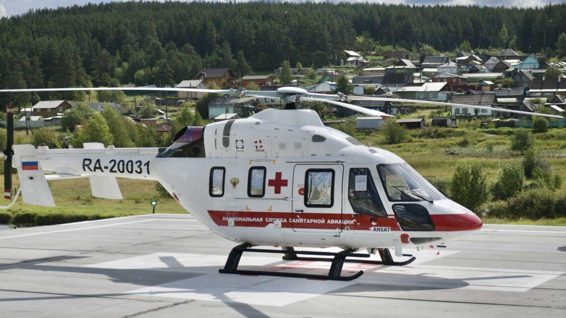 Вертолетная площадка в Краснотурьинске: первые вылеты