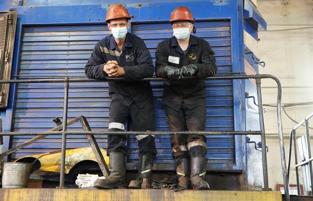Железнодорожный парк СУБРа находится под ежедневным контролем команды механиков и слесарей