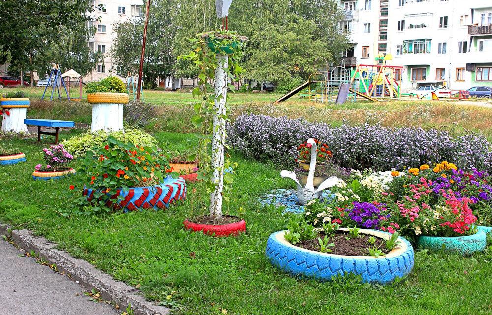 Что ни двор, то сад