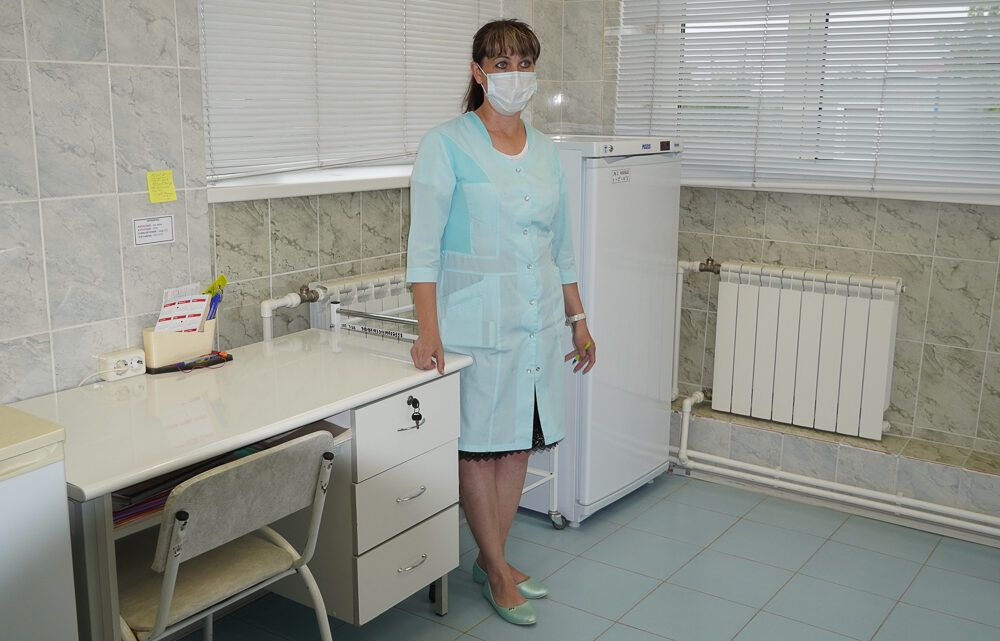 В посёлке Третий Северный началась вакцинация от коронавируса