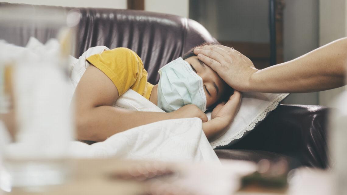 Дети стали болеть в пять раз чаще