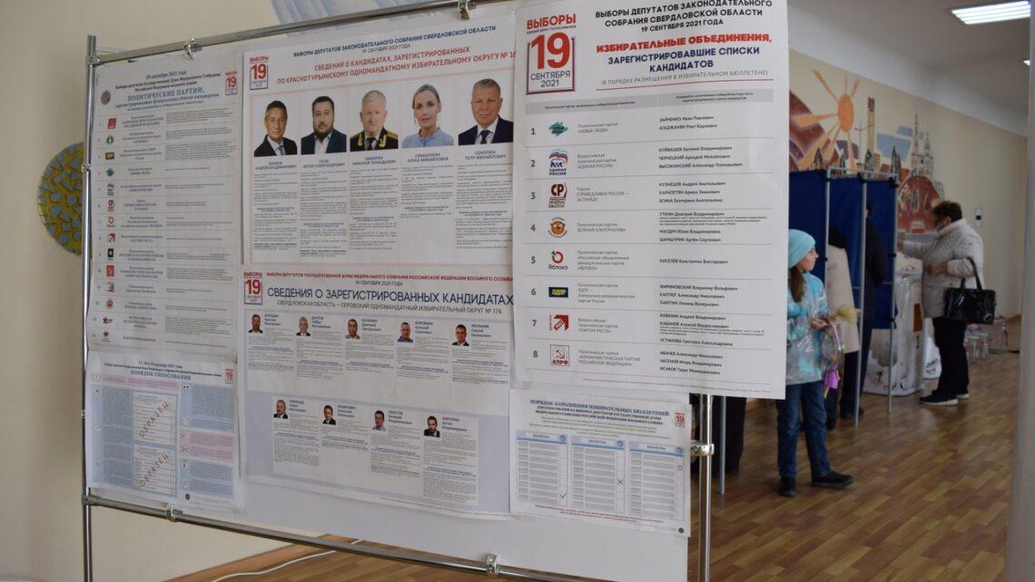 17, 18 и 19 сентября избирательные участки принимали жителей Североуральского городского округа